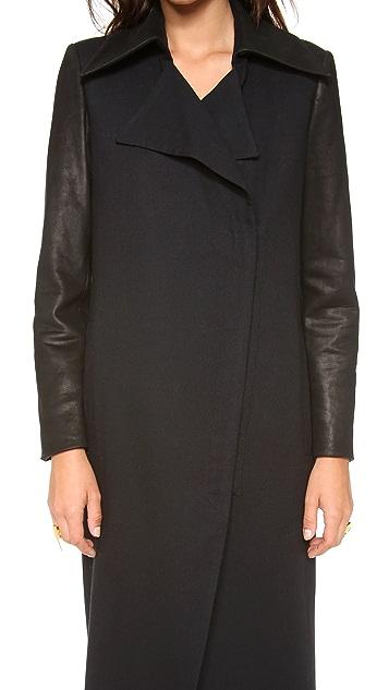 Helmut Lang Noa Long Coat