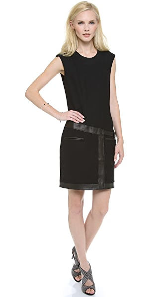 Helmut Lang Patch Pocket Shift Dress