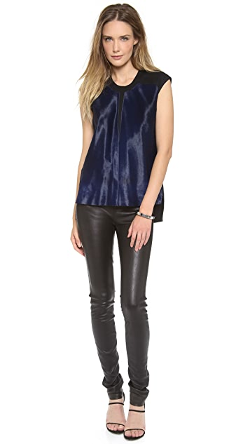 Helmut Lang Haircalf Top