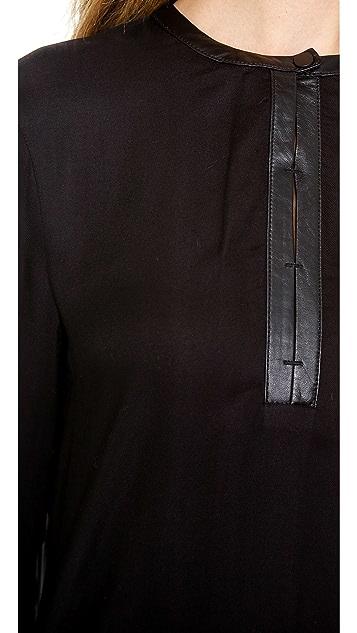 Helmut Lang Slit Detail Top