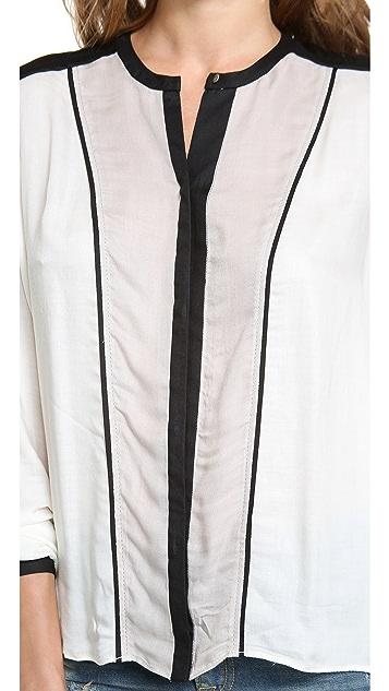 Helmut Lang Long Sleeve Blouse