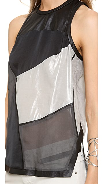 Helmut Lang Seaming Top