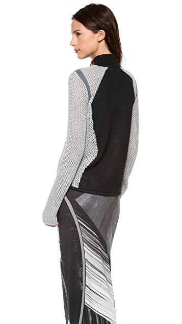 Helmut Lang Abstract Turtleneck