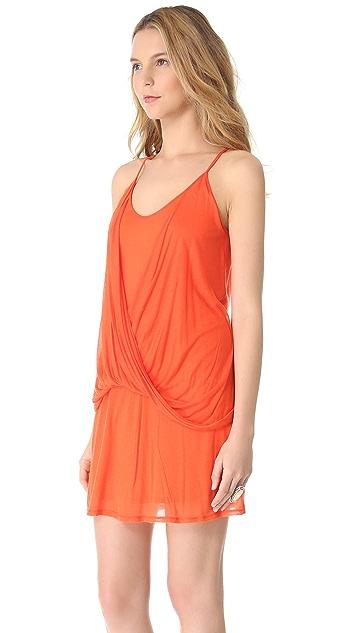 Helmut Lang Sleeveless Drape Dress