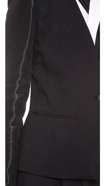 Helmut Lang Wet Sleeve Blazer