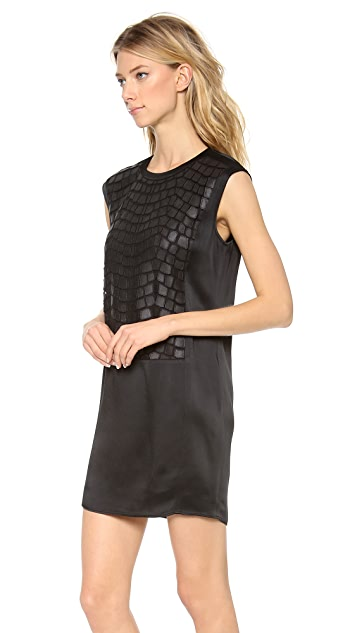 Helmut Lang Fractal Mini Dress