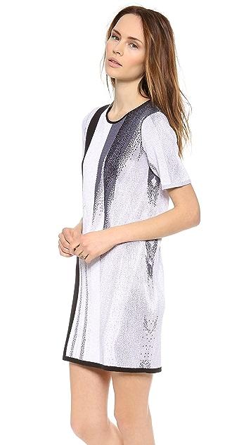 Helmut Lang Virga Jacquard Dress