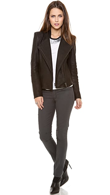 Helmut Lang Wither Leather Jacket