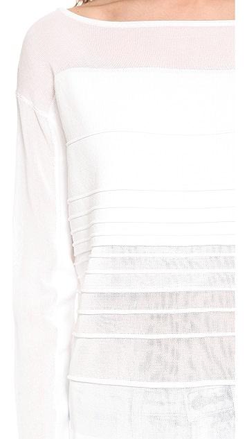 Helmut Lang Linear Degrade Pullover