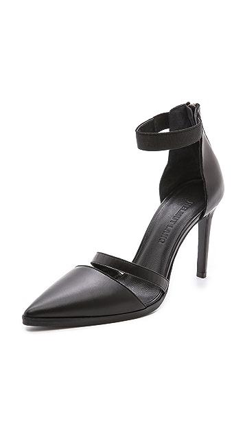 Helmut Lang Silt Ankle Strap Pumps