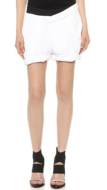 Helmut Lang Origami Shorts