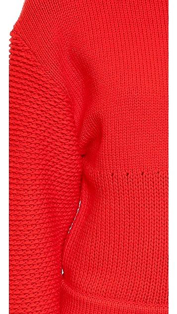 Helmut Lang Intarsia Pullover