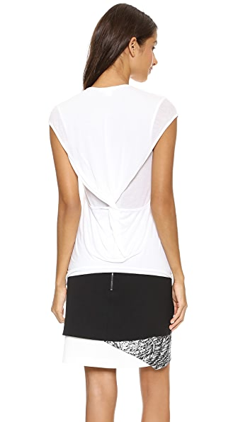 Helmut Lang Twist Back Tee