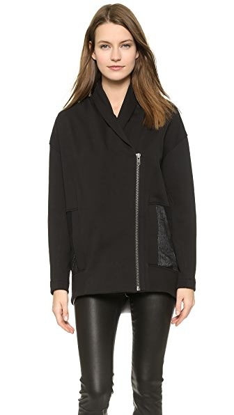 Helmut Lang Drift Sweatshirt Jacket