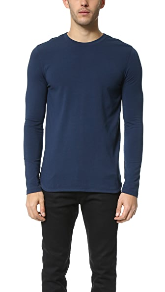 Helmut Lang Core Jersey Long Sleeve Tee