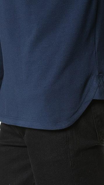 Helmut Lang Core Jersey Long Sleeve Tee