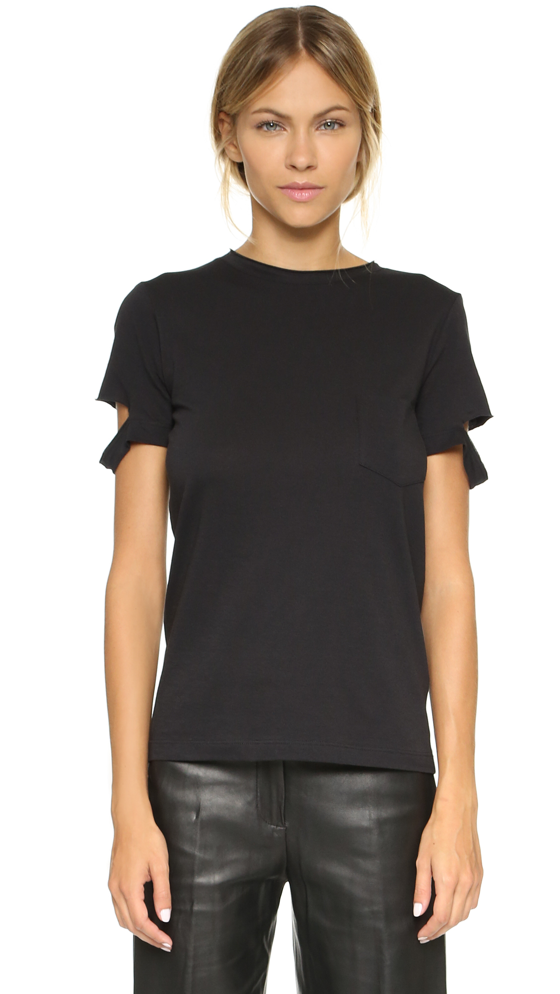 Helmut Lang Pocket Tee - Black