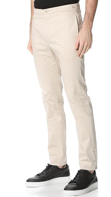 Helmut Lang Sateen Suiting Slim Trousers
