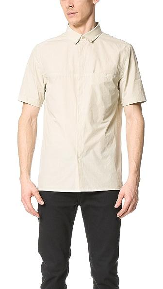 Helmut Lang Whisper Short Sleeve Shirt