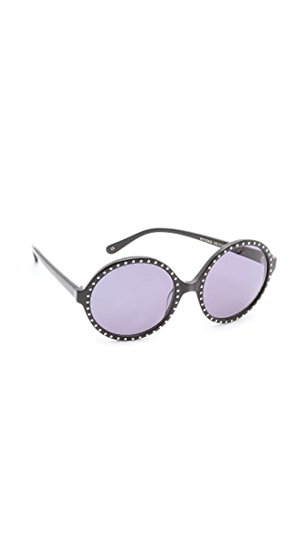 Heidi London Round Oversized Sunglasses