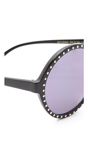 Heidi London Round Oversized Sunglasses