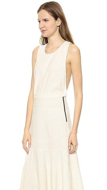 Heidi Merrick Sand Dollar Maxi Dress