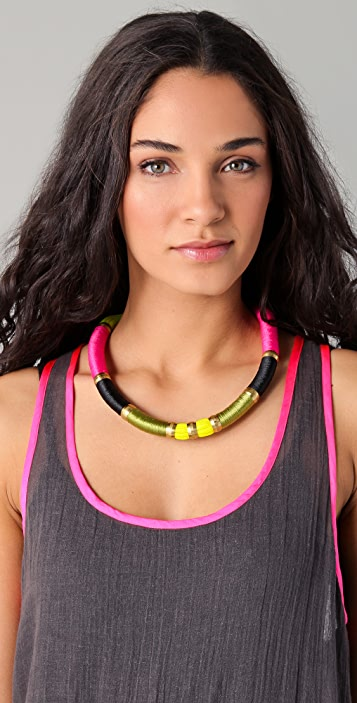 Holst + Lee Short Colorblock Necklace