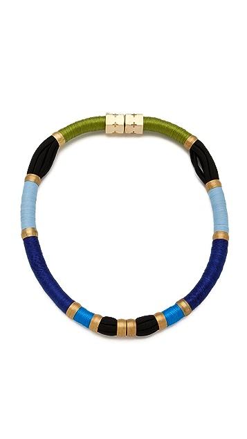 Holst + Lee Long Colorblock Necklace