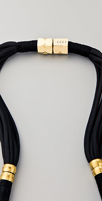 Holst + Lee Plate Necklace