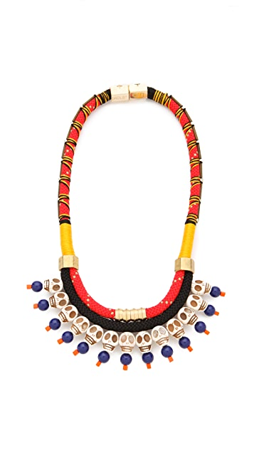 Holst + Lee Dead Man's Bones Necklace