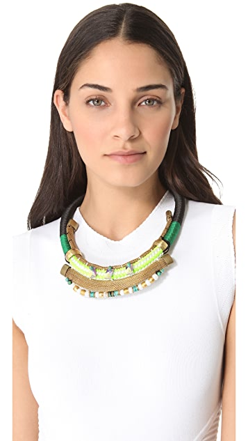 Holst + Lee The Award Show Plate Necklace