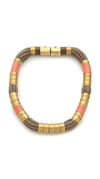 Holst + Lee Madagascar Colorblock Necklace