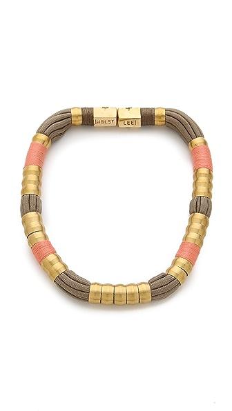 Holst + Lee Madagascar Colorblock Necklace