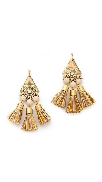 Holst + Lee Tiki Earrings