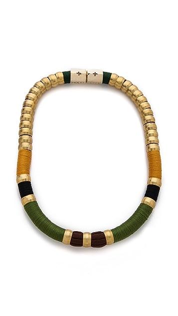 Holst + Lee Coquette Colorblock Necklace