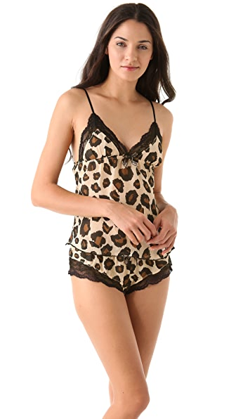 Honeydew Intimates Meow Camisole & Tap Pants Set