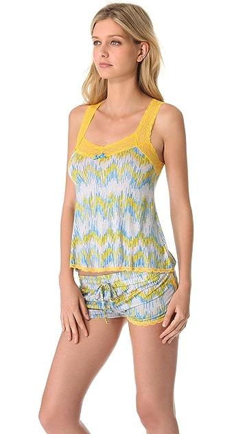 Honeydew Intimates Lace PJ Set