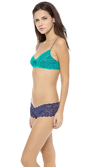 Honeydew Intimates Emma Elegance Neon Lace Bralette