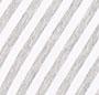 Heather Grey/Marshmallow Strip