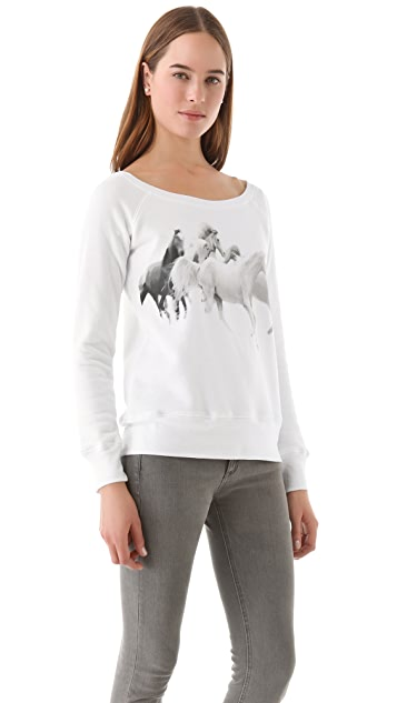 Horseworship Apparel We Run with the Arabians Sweatshirt