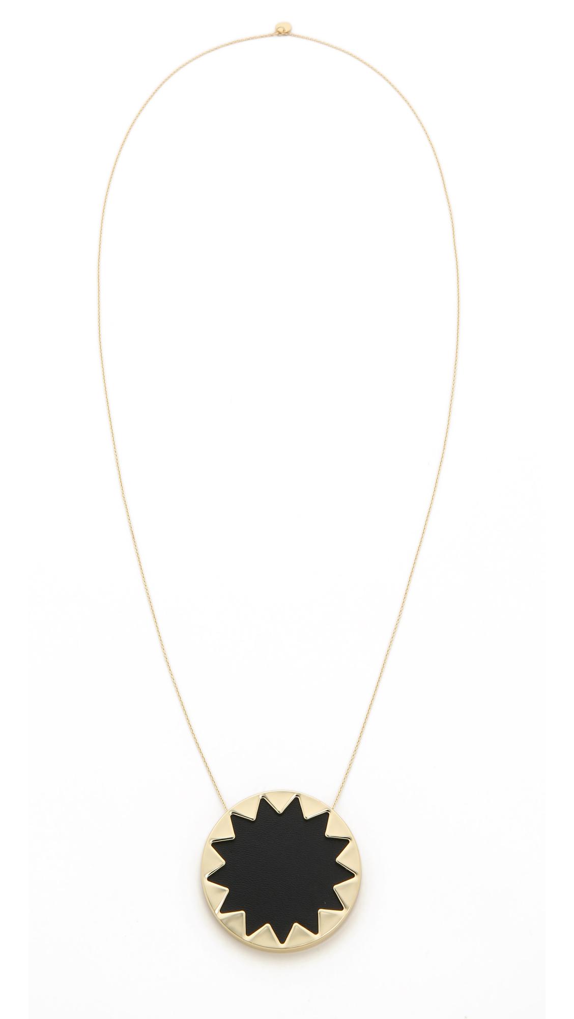 House of harlow 1960 sunburst pendant necklace shopbop mozeypictures Gallery