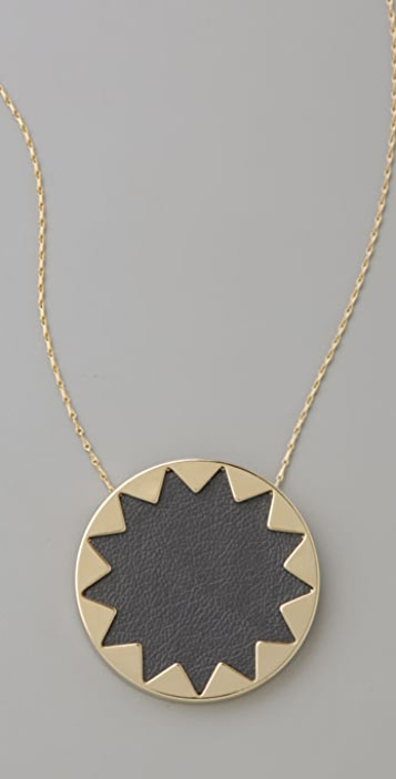 House of Harlow 1960 Sunburst Pendant Necklace