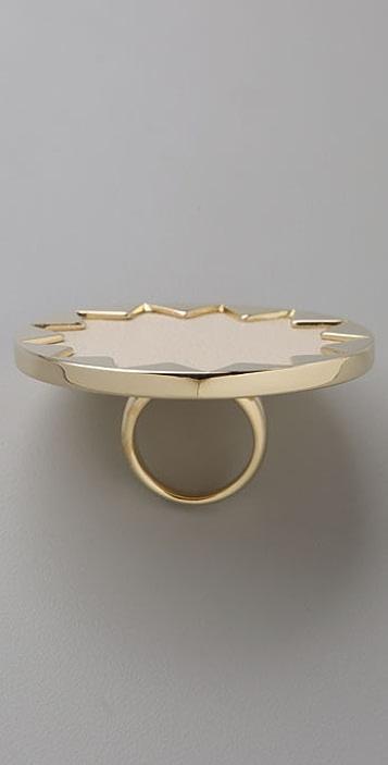 House of Harlow 1960 Sunburst Cocktail Ring