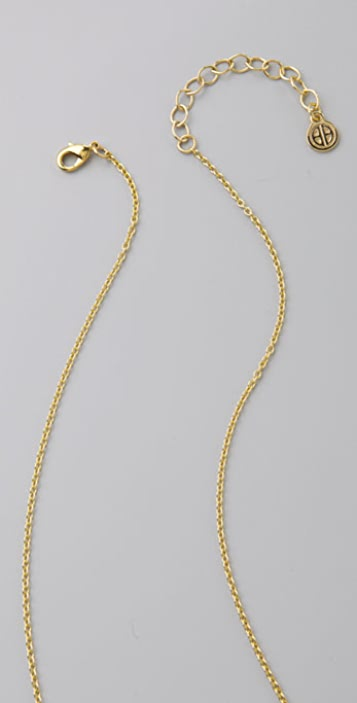House of Harlow 1960 Peacock Necklace