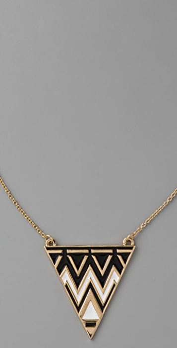 House of Harlow 1960 Tribal Triangle Necklace