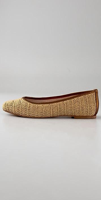House of Harlow 1960 Kelly Crochet Flats