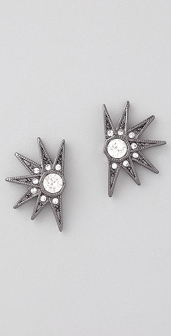 House of Harlow 1960 Pave Stargazer Earrings