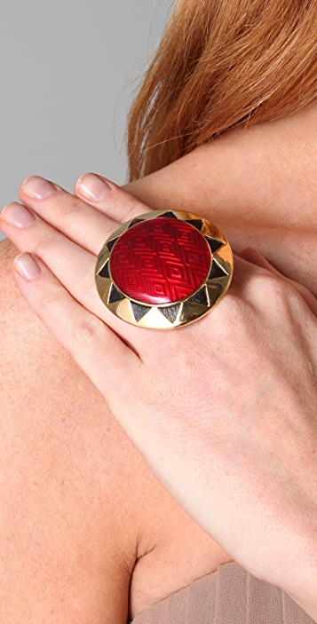 House of Harlow 1960 Sun Cocktail Ring
