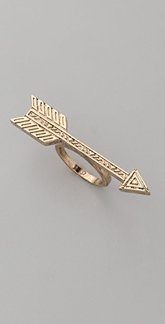 House of Harlow 1960 Arrow Ring
