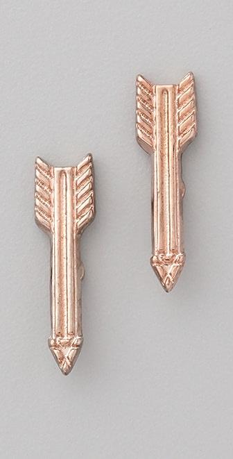 House of Harlow 1960 Short Arrow Stud Earrings